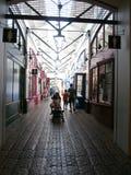 Shoppar på den kungliga sjö- varven Royaltyfria Foton