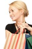 shoppare Fotografering för Bildbyråer