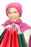 shoppare Arkivbilder