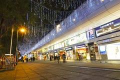 shoppare för boulevardlanepark s royaltyfri fotografi