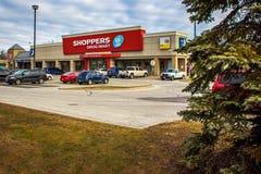 Shopparedrogmarknad Fotografering för Bildbyråer