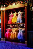 Shoppe reale di principessa al giardino reale di principessa in Disneyland Hong Kong immagine stock libera da diritti