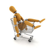 Shopped out Stock Images