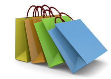 Shopper - 3D Royalty Free Stock Image