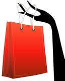 Shopper in hand Stock Photos