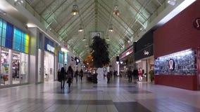 Shopper inside Coquitlam Center shopping mall Stock Images