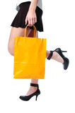 Shopper low view Stock Image