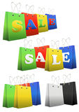 Shopper sale Stock Photo