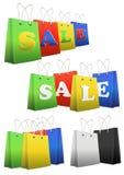 Shopper sale Stock Photo
