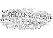 A Shopper Thrives On Line Word Cloud Royalty Free Stock Image