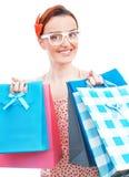 Shopper woman Royalty Free Stock Photos