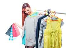 Shopper woman Stock Photos