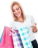 Shopper woman Royalty Free Stock Image