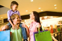 Shoppers Stock Image