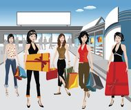 Shoppers Stock Images