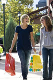Shoppers Stock Photo
