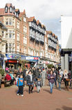 Shoppers in Bournemouth town centre Royalty Free Stock Photos