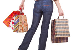 Shoppers Happiness Royalty Free Stock Photo