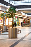 Shoppers at shopping center Stock Photo
