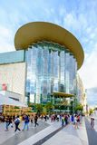 Shoppers visit Siam Paragon mall in Siam Square mall on in Bangk Stock Images
