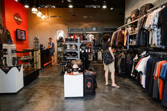 Shoppes bei Marina Bay Sands Lizenzfreies Stockfoto