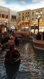 Shoppes di Grand Canal al casinò veneziano dell'hotel di località di soggiorno a Las Vegas Fotografia Stock Libera da Diritti