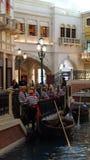 Shoppes di Grand Canal al casinò veneziano dell'hotel di località di soggiorno a Las Vegas Immagini Stock