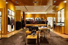 Shoppes en Marina Bay Sands Fotos de archivo libres de regalías