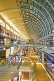 THE SHOPPES at Marina Bay Sands. Is one of Singapore's largest luxury shopping malls. Developed by Las Vegas Sands (LVS), it is the world's most expensive Royalty Free Stock Photography