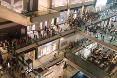 Shoppes at Marina Bay Sands Royalty Free Stock Images
