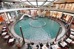 The Shoppes at Marina Bay Sands. MARINA BAY, SINGAPORE - JAN 20, 2017: The Shoppes at Marina Bay Sands is a famous shopping center of Singapore travel Stock Photos