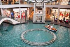 The Shoppes at Marina Bay Sands. MARINA BAY, SINGAPORE - JAN 20, 2017: The Shoppes at Marina Bay Sands is a famous shopping center of Singapore travel Stock Images