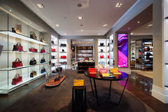 The Shoppes at Marina Bay Sands Royalty Free Stock Image