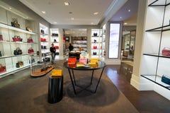 The Shoppes at Marina Bay Sands Royalty Free Stock Photos