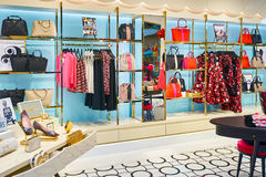 The Shoppes at Marina Bay Sands Stock Photography