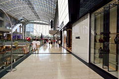 The Shoppes at Marina Bay Sands Stock Images