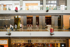 The Shoppes at Marina Bay Sands Stock Photography