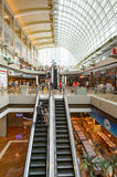 The Shoppes at Marina Bay Sands. SINGAPORE - NOVEMBER 08, 2015: interior of The Shoppes at Marina Bay Sands. The Shoppes at Marina Bay Sands is one of Singapore' Royalty Free Stock Photography