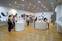 The Shoppes at Marina Bay Sands Stock Photos