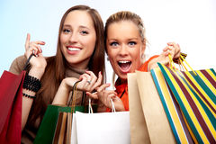 Shoppig Royalty Free Stock Photos