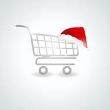 Shoppimg trolley Stock Photo