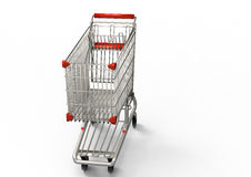 Shoppin cart Royalty Free Stock Images
