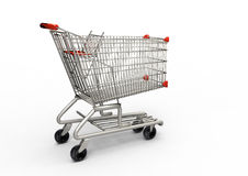 Shoppin cart Royalty Free Stock Photos