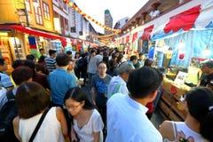 Shoppin lunar chino del Año Nuevo de Singapur Chinatown Fotos de archivo libres de regalías