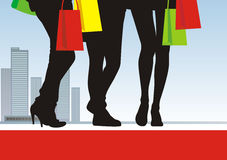 Shopping 1 Royalty Free Stock Image
