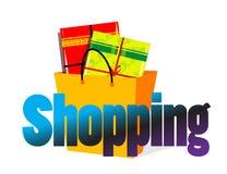 Shopping. Logo. ai file also avaialable for sale Stock Photos