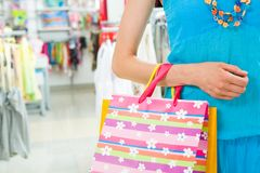 During shopping Royalty Free Stock Photography