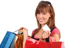shopping Arkivbild