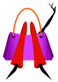 shopping Vektor Illustrationer