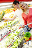 During shopping Stock Image